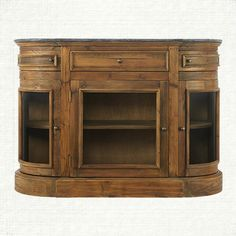 the kensington media cabinet is handcrafted from the same recycled pine as its companion pieces—salvaged from the same structures in rural china. the 52 17 34