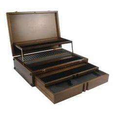 Empty Wooden Storage Box