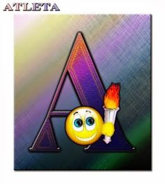 Alfabeto de Smilies para cada letra.