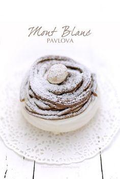 Chocolate & Chestnut Pavlova Recipe