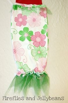 Fireflies and Jellybeans: Mermaid Tail for dress up