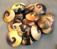 Desiree McCrorey- Polymer Clay Gallery #5 - Loose Beads