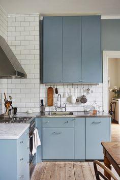 Blue Kitchen Ikea