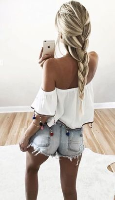 This top and shorts!