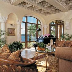 Tuscan Interiors On Pinterest Tuscan Decor Tuscan Kitchens And