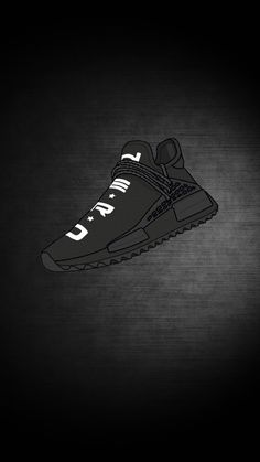Supreme Wallpaper: NERD NMD Wallpaper I made using mockup Sneakers Wallpaper, Shoes Wallpaper, Nike Wallpaper, Retina Wallpaper, Wallpaper Backgrounds, Best Sneakers, Sneakers Fashion, All Black Sneakers, Shoes Sneakers