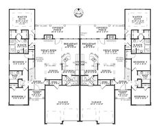 Duplex House Plans with Garage - Duplex House Plans with Garage , Family House Plans with Photos – themajorsfo Garage House Plans, Family House Plans, Country Style House Plans, Cottage House Plans, New House Plans, Dream House Plans, Car Garage, Craftsman Cottage, Family Houses