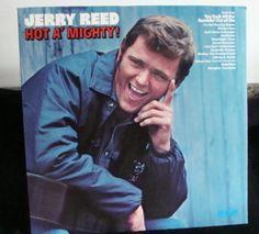Jerry Reed Lp Hot A' Mighty! Near Mint #AlternativeCountryAmericanaCountryPopNashvilleSoundTraditionalCountry
