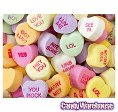 Brach's Small Conversation Hearts Candy: 35-Ounce Bag
