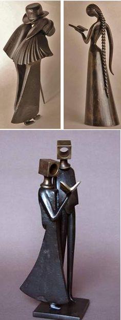 » Blog Archive » Embora feitas em ferro, as esculturas de Jean Pierre Augier primam pela leveza