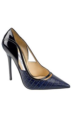Jimmy Choo Stunning i love this deep navy blue color