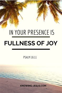 Psalm 16-11 In Your Presence is the Fullness of Joy.jpeg 900×1,348 pixels