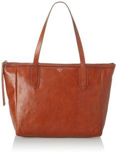 Fossil Sydney Shopper Shoulder Bag, Brown, One Size: Handbags: Amazon.com