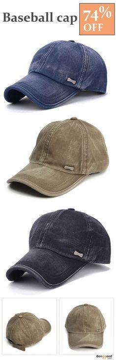 9d372394620 Unisex Washed Cotton Blend Golf Hip-hop Cap Sports Adjustable Outdoor  Snapback Hat
