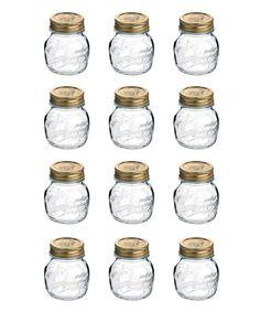 Look what I found on #zulily! Quattro Stagioni 5-Oz. Jar - Set of 12 #zulilyfinds