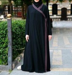 Kimono style abaya from Shukr.....