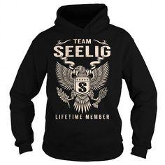 Cool Team SEELIG Lifetime Member - Last Name, Surname T-Shirt T shirts