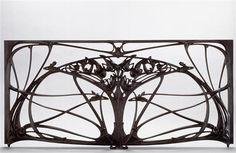 """Panneau central de grand balcon, 1905-1907, Creator: Hector Guimard --- Europeana Exhibitions """"Art Nouveau"""""""