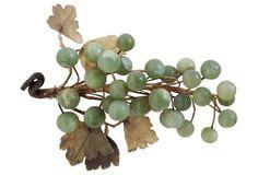 Antique Jade Grape Cluster