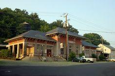Former Chesapeake and Ohio Railway Station at Staunton, VA