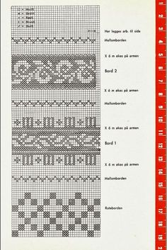Fair Isle Knitting Patterns, Knitting Stiches, Fair Isle Pattern, Knitting Charts, Knitting Designs, Baby Knitting, Fair Isle Chart, Norwegian Knitting, Graph Design