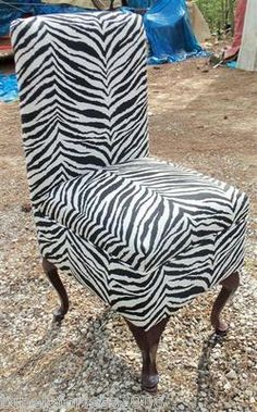 White Vanity with black & pink zebra print. | Tina\'s TakeOver ...