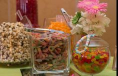 Super fun touch for any occasion, candy buffet