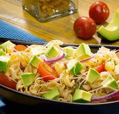 Avocado Salad Center I Avocados From Mexico Salad Recipes Healthy Lunch, Avocado Salad Recipes, Easy Salads, Top Recipes, Healthy Salad Recipes, Summer Salads, Mexican Food Recipes, Cooking Recipes, Avocado Guacamole