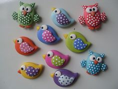 Fimo o fondant Polymer Clay Kunst, Polymer Clay Figures, Polymer Clay Animals, Fimo Clay, Polymer Clay Charms, Polymer Clay Projects, Polymer Clay Creations, Clay Crafts, Polymer Clay Jewelry