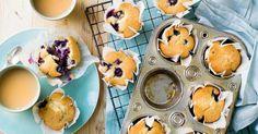 Muffins de mirtilos que se preparam em apenas 3 minutos - NiT