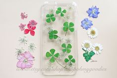iPhone 6 Plus Case Pressed Flower iPhone 6 Plus by ShopOhMyGoodies