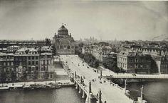 Het Paleis voor Volksvlijt gezien vanaf het Amstel Hotel 1894