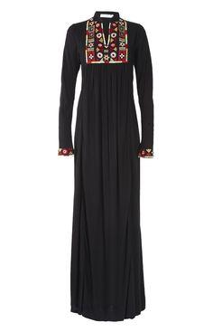 Hijab Fashion 2016/2017: Sélection de looks tendances spécial voilées Look Descreption Aab UK Tribal Art Abaya : Standard view