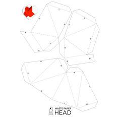 Бумажное сердце шаблон для печати