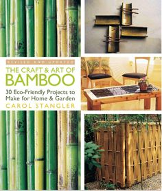 "The craft & art of bamboo, revised & updated 30 eco friendly projects to make for home & garden Beautiful, sustainable bamboo is one of the most popular materials around for gardens and home décor. This highly regarded introduction to the material is now back in print, revised and updated. It still offers rich history, fascinating background, and great projects, but with more than 20 new images—making this the most attractive source on the ""it"" plant of the green movement. From weathering…"