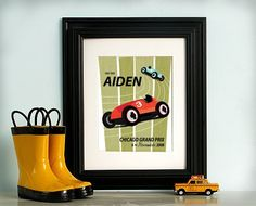 Personalized Car Print $20.00