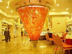 Focal point of a restaurant