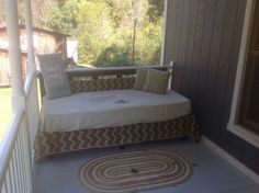Porch Daybed for Under $50.00