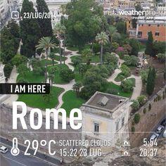 Giardino Aldobrandini, a secluded little park next to Piazza Venezia. Learn. Live. Love. Rome. With www.afriendinrome.it