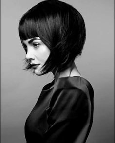 Cool ,modern Louise Brooks cut