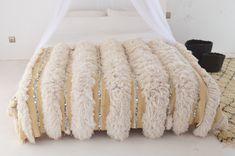 Moroccan Wedding Blanket, Shag Rug, Tapestry, Bathroom, Vintage, Home Decor, Crocheted Afghans, Cross Stitch
