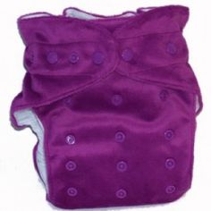 A pocket nappy is a two piece nappy system made up of a waterproof outer lined with microfleece or suedecloth on the inside which sits next to babies bum.