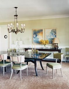 traditional dining room by s r gambrel inc in the hamptons new york
