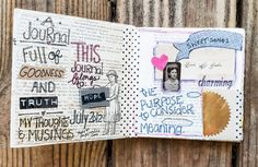 thesoulofhope's history of stitched journals My Journal, Art Journal Inspiration, Hand Stitching, Creative Art, Memories, Thoughts, History, Art Journaling, Historia
