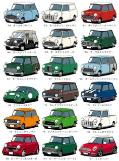 Mini car save traffic,doesn't it? Cleaning components of mini car, contact us: holly Mini Cooper Classic, Classic Mini, Classic Cars, Pub Vintage, Vintage Cars, Austin Mini, Mini Morris, Gt Turbo, Mini Copper