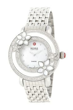 Michele Women's Cloette Stainless Steel Watch by Non Specific on @HauteLook