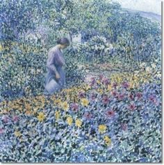 Woman with Watering Can - Louis Ritman - The Athenaeum