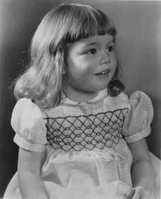 Tuesday Weld at a young age.