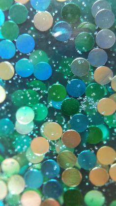Glitter macros for your phone Courtesy of Courtney Walker, blogger for Swatcher, Polish-ranger
