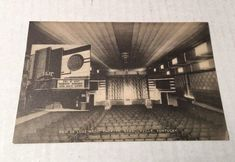 Barbourville Kentucky KY New De Luxe Magic Theatre Postcard Unposted